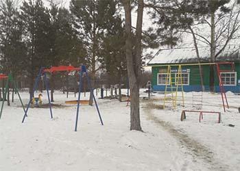 Первый и единственный парк развлечений открылся в селе Серышевского района