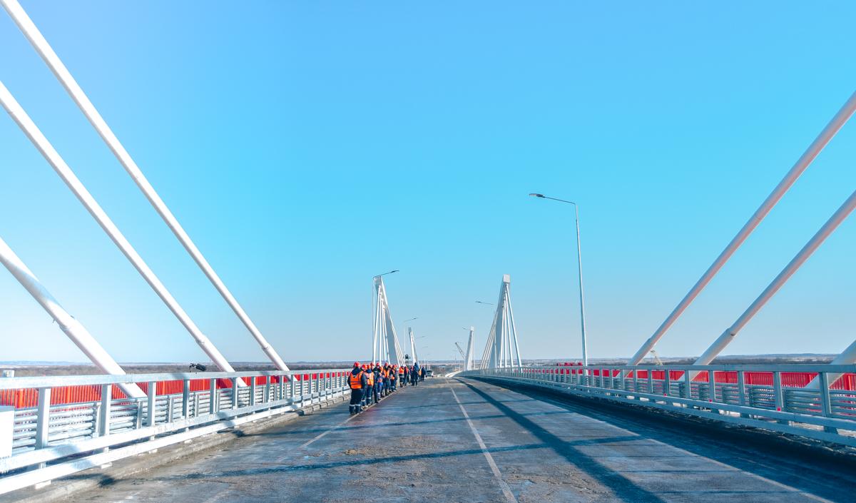 В Приамурье достроили российскую часть моста через Амур