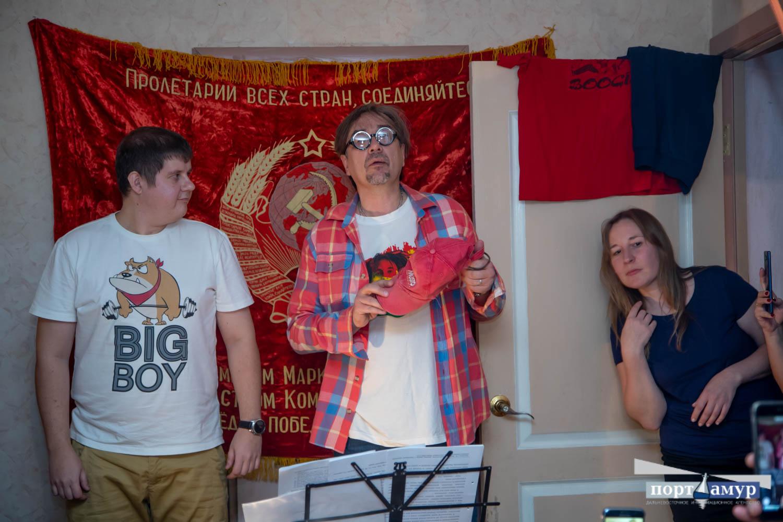 На «квартирнике»в Благовещенске сыграли «маньчжурский блюз»