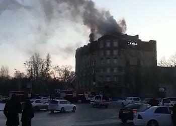 В одной из гостиниц Благовещенска случился пожар