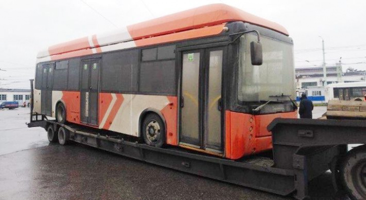 По первому маршруту пустят троллейбус из Уфы ради эксперимента