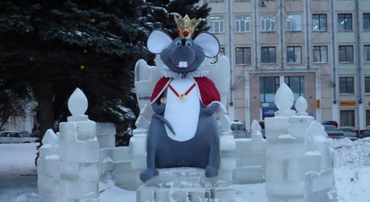 В Чебоксарах установят фигуру мышиной королевы