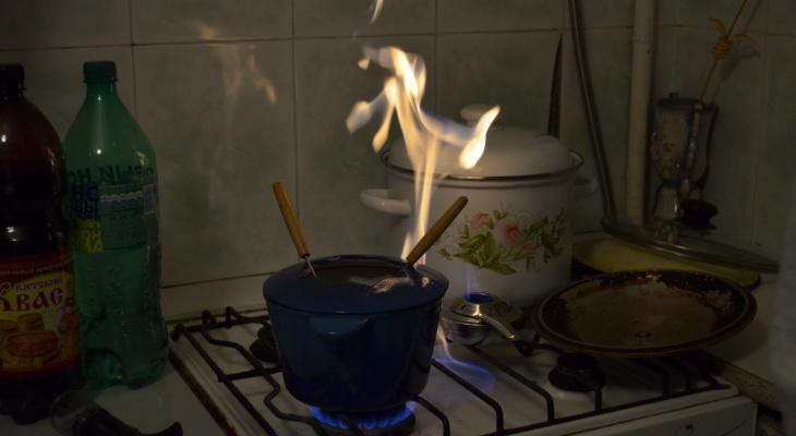 В Козловке женщина получила ожоги от взрыва газа