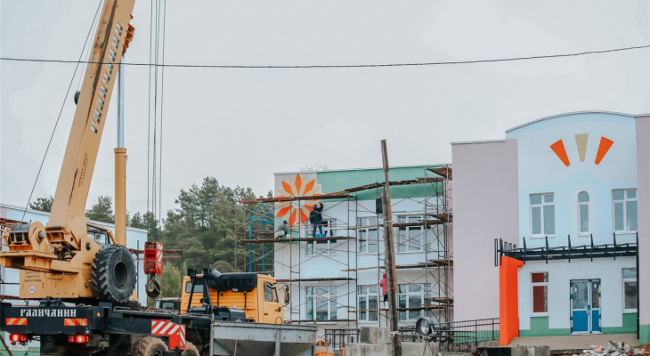 Садик в Заволжье будет построен до Нового года