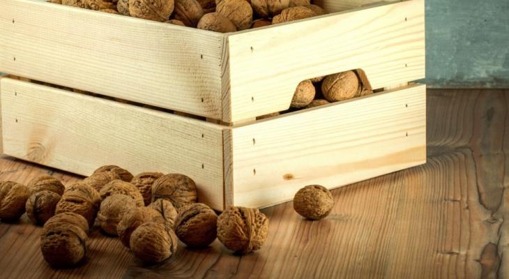 Больше центнера орехов в Чебоксарах уничтожили из-за санкций