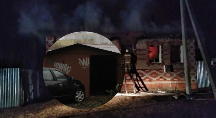 Установщик газового оборудования на машины серьезно пострадал в огне