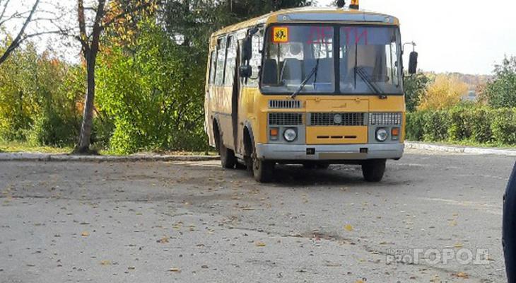 Школьников в Ядринском районе автобус возил с нарушениями