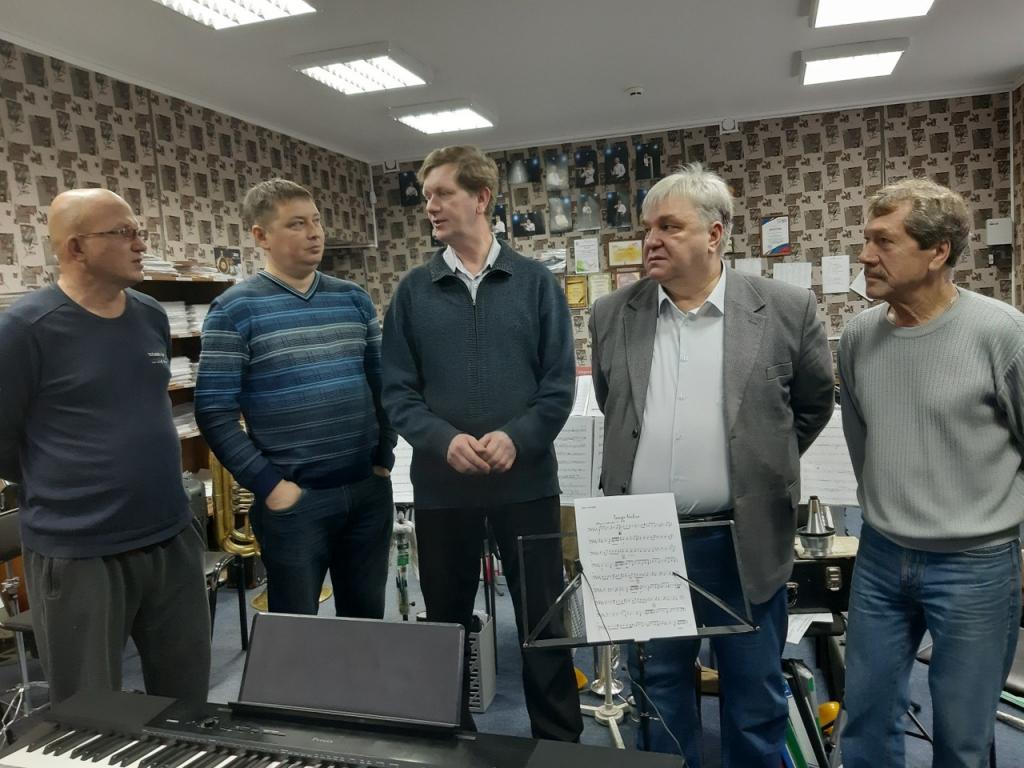 Музыканты духового оркестра Чебоксар: