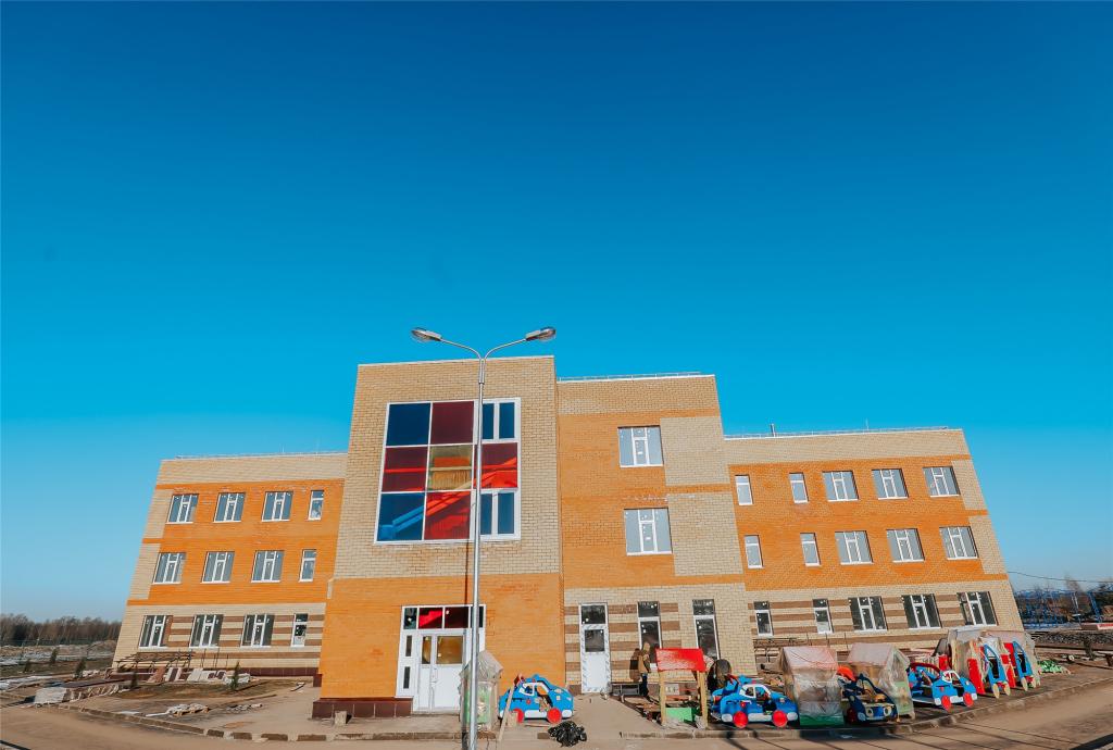В Новом Городе до конца декабря достроят два детсада, а в следующем году — школу