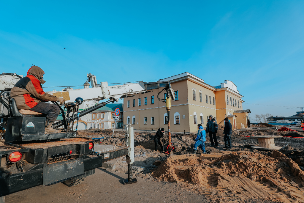 Ремонт Московской набережной завершится в июне