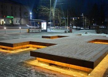 Площадь Победы привели в порядок в Сковородине