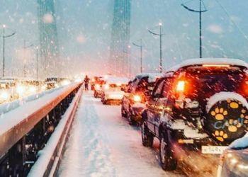 Во Владивостоке столкнулись 48 автомобилей