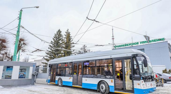 «Безрогие» троллейбусы могут запустить между Чебоксарами и Новочебоксарском