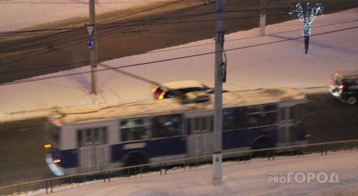 Троллейбусы Чебоксары – Новочебоксарск запустят уже после Нового года