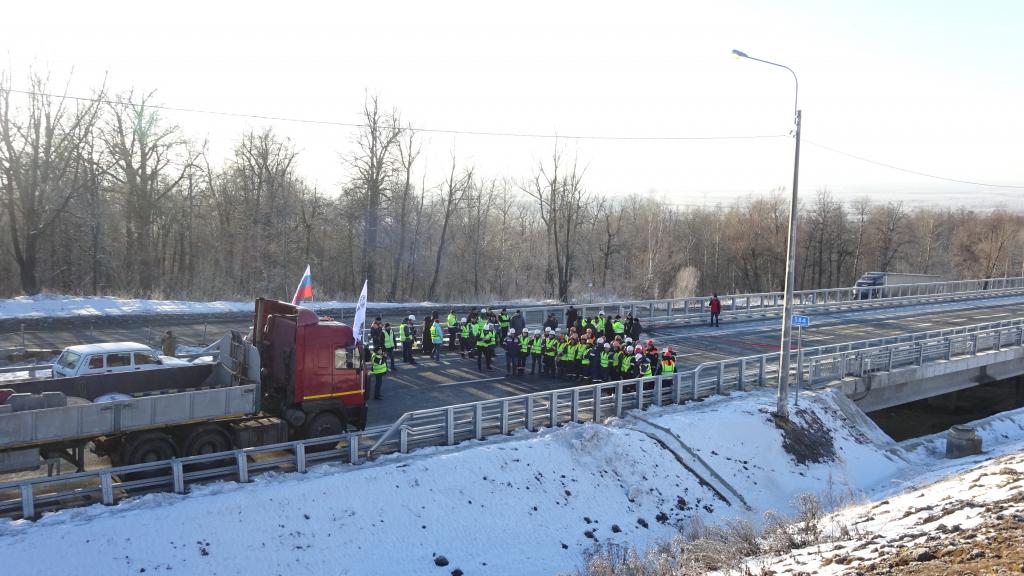 Антигололедная система установлена впервые в Чувашии на новом участке дороги