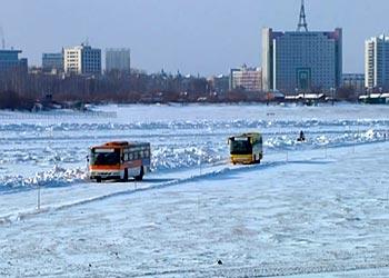 1 января не будут ходить автобусы в Хэйхэ