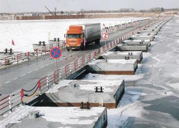 Заработал грузовой мост между Благовещенском и Хэйхэ